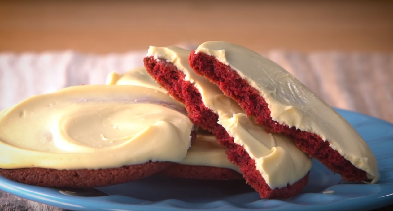 Red velvet cookies - Cucinare