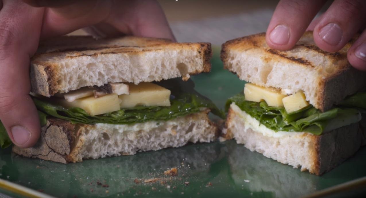 Sandwich vegetariano cucinare for Cucinare vegetariano