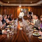Mesa del chef, la última tendencia de la gastronomía de alta mar