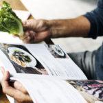 Libros de gastronomía: páginas para comer
