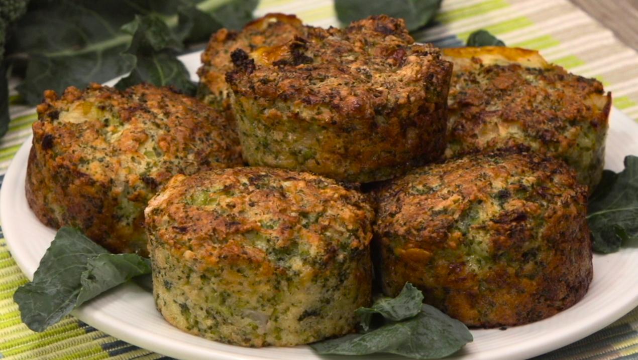 Muffins De Bru00f3coli