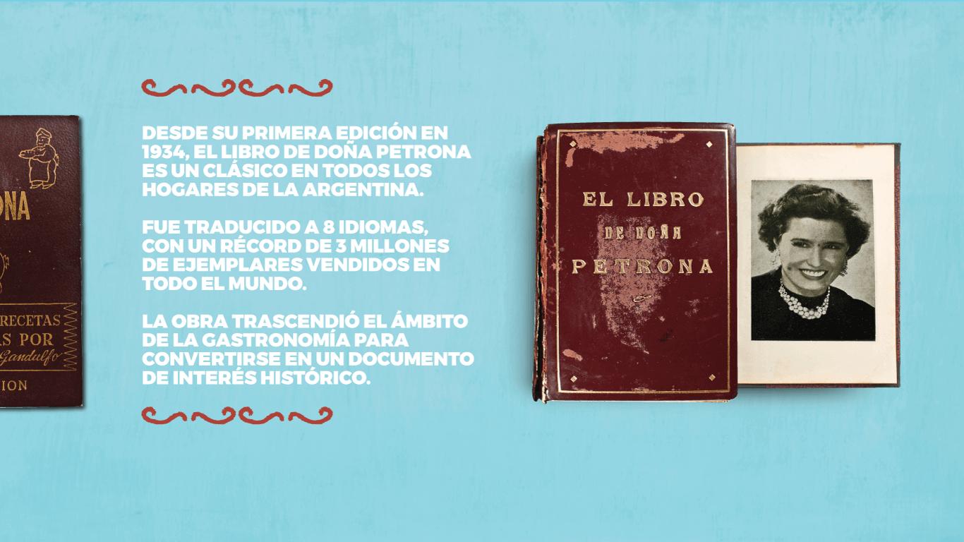 Libro doña petrona