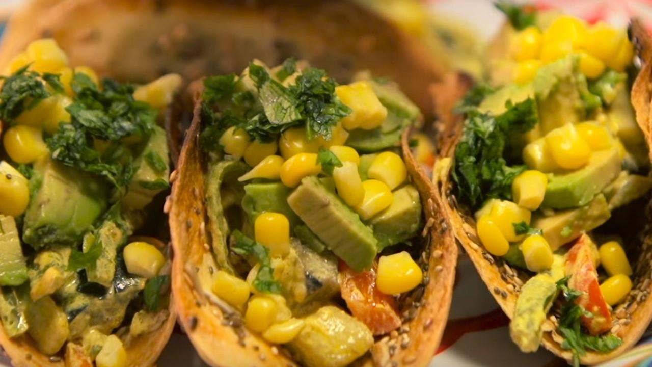 Tacos vegetarianos cucinare for Cucinare vegetariano