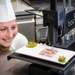 Comida impresa en 3D, la última tendencia en gastronomía