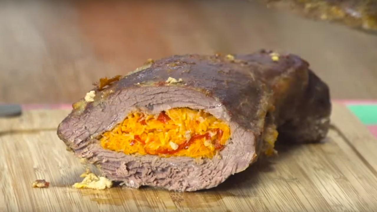 Colita de cuadril mechada - Cucinare