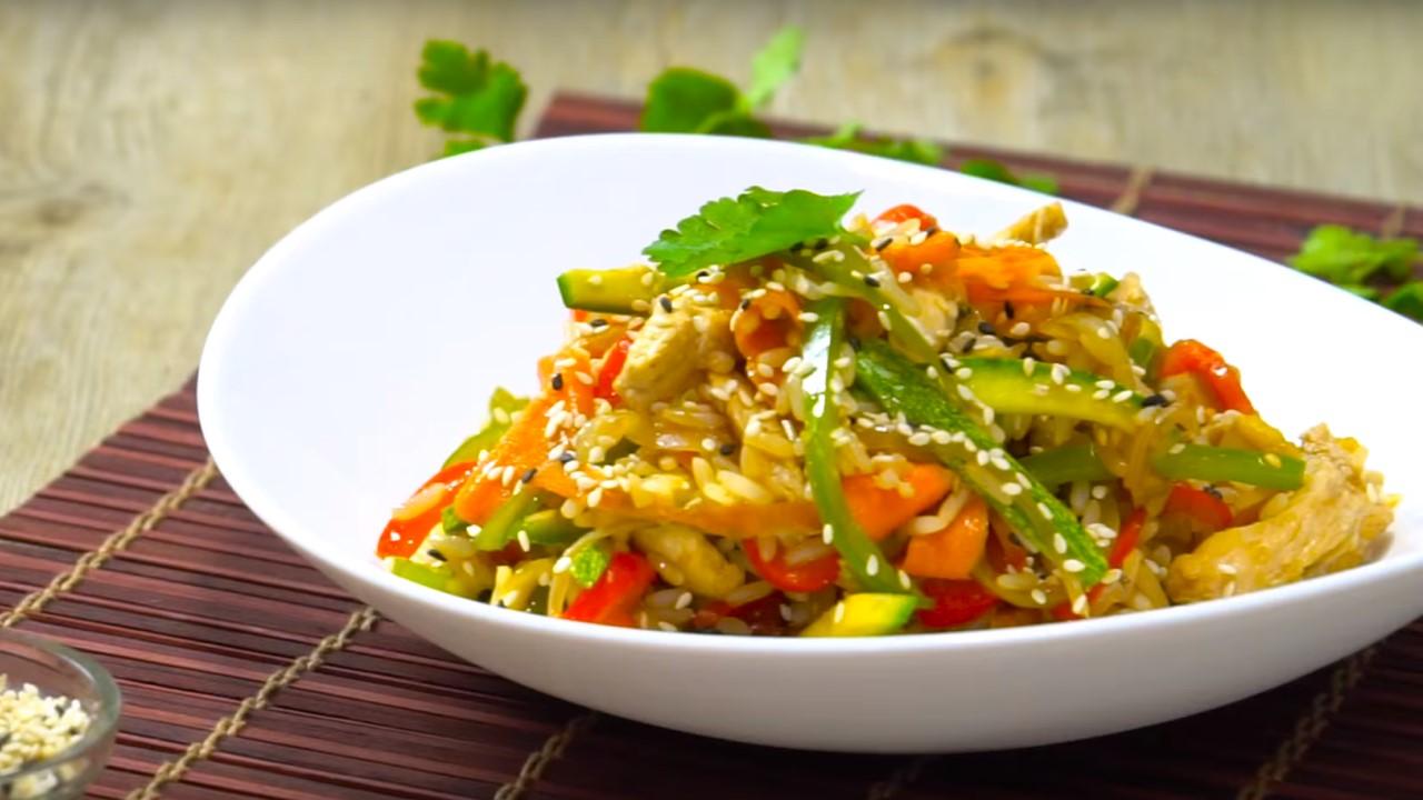 Receta postres wok