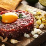 Carne cruda: dos formas de comerla