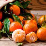 Productos de estación: mandarina