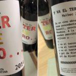 Y va el tercero…: el provocativo vino que conmemora la superfinal de River y Boca