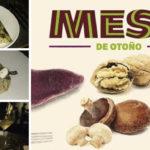 Batata, nuez, hongos y mandarina: una combinación ideal para platos de otoño