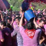 La batalla más insólita del mundo: 45 mil litros de vino que vuelan por el aire