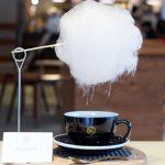 El café más exótico: endulzado con algodón de azúcar