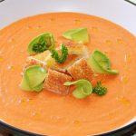 Gazpacho, la única sopa que no se toma en invierno