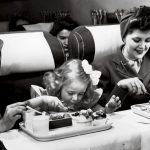 La historia detrás del primer menú a bordo de un avión