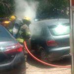 Insólito: prendieron el fuego para el asado adentro del baúl y casi explotan el auto