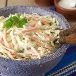 Coleslaw, la ensalada que vino del norte
