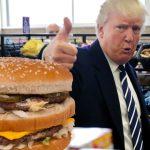 Donald Trump ordenó que se vuelva a servir comida chatarra en los comedores de los colegios