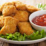 Bocaditos de pollo: una solución que tiene patitas cortas