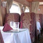 Vagón comedor: así se comía en los trenes en la Argentina