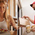 Coronavirus y cuarentena: ¿es seguro pedir comida a domicilio?