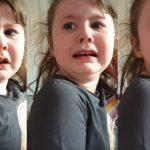 Se puso a llorar porque cerraron los locales de fast food y su mamá viralizó el video