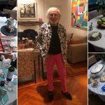 Tiene 82 años y decora su mesa para que sus comidas en cuarentena sean siempre una celebración gourmet