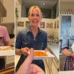 Valeria Mazza se anima a cocinar desde sus redes y se convierte en una inesperada influencer gastronómica