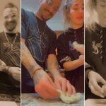 Jimena Barón se mostró muy picante cocinando ñoquis rellenos con su ex Daniel Osvaldo