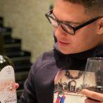 Futbolista de River que jugó la histórica final de Madrid lanzó su propio vino con la imagen del gol que le hizo a Boca