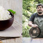 Arroz: mano a mano con Hernán Gipponi, un maestro del grano más popular