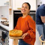 Famosos en cuarentena: las celebridades que compartieron sus cocinas durante la pandemia