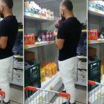 Prueba los jugos de una tienda y los deja en las góndolas: clausuraron el local por miedo a un brote de coronavirus