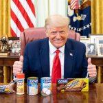 El insólito apoyo de Donald Trump a una marca española de alimentos
