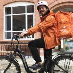 El argentino que trabaja como repartidor de delivery en Alemania y gana 250 mil pesos por mes