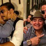 """""""Reservada para siempre"""": el homenaje del cocinero en la mesa de la parrilla que frecuentaba Maradona en Dubai"""