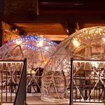 El iglú, la solución que encuentran muchos restaurants para evitar el cierre en medio de la pandemia