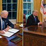 Botón rojo: Joe Biden se deshizo del dispositivo que Donald Trump tenía en su escritorio para pedir gaseosa