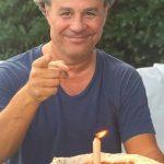 Torre de pizzas, la original torta de cumpleaños que eligió Roberto Petersen para soplar las velitas