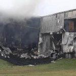 """Incendio en una reconocida fábrica de embutidos: """"No se salvó nada"""""""