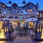 Telecabinas, la original solución de un centro de esquí para habilitar su restaurant y mantener la distancia social