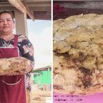 Una mujer encontró siete kilos de vómito de cachalote valuados en 260 mil dólares