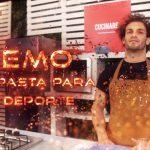 ¡Con pasta para el deporte! Memo Mandarano, nuevo integrante de Cucinare