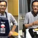 El embajador de Japón se animó a cocinar empanadas tucumanas y su repulgue se volvió viral en redes