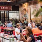 Güerrín, la pizzería que construyó un patio para sobrevivir a la pandemia