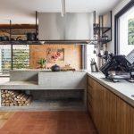 Cocina a leña, la última tendencia retro en diseño de interiores