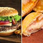 Hamburguesa con una empanada como relleno, la propuesta que provoca debate entre los fanáticos de las burgers