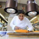 Mauro Colagreco volvió a cocinar para el presidente francés Emmanuel Macron
