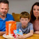 Fobia a la comida: un chico de 12 años se alimentó sólo con pan y yogur durante una década