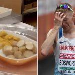 """Un atleta criticó duramente la comida que le sirven en los Juegos Olímpicos: """"Parece una cárcel"""""""