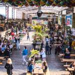 Patio de los Lecheros: cumple cinco años un espacio gastronómico clave de la ciudad de Buenos Aires